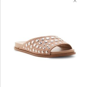 1. State studded Onora leather sandal